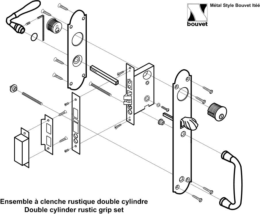 clenches de porte clenche de porte ancienne clenches flau. Black Bedroom Furniture Sets. Home Design Ideas